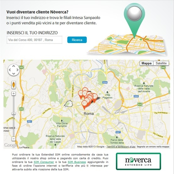 Vuoi diventare cliente #Nòverca? Scopri sul nostro sito la mappa interattiva delle filiali #Intesasanpaolo e dei punti vendita più vicini dove trovare l'Extended #SIM! http://www.noverca.it/noverca-shop-dove-richiedere-una-extended-sim