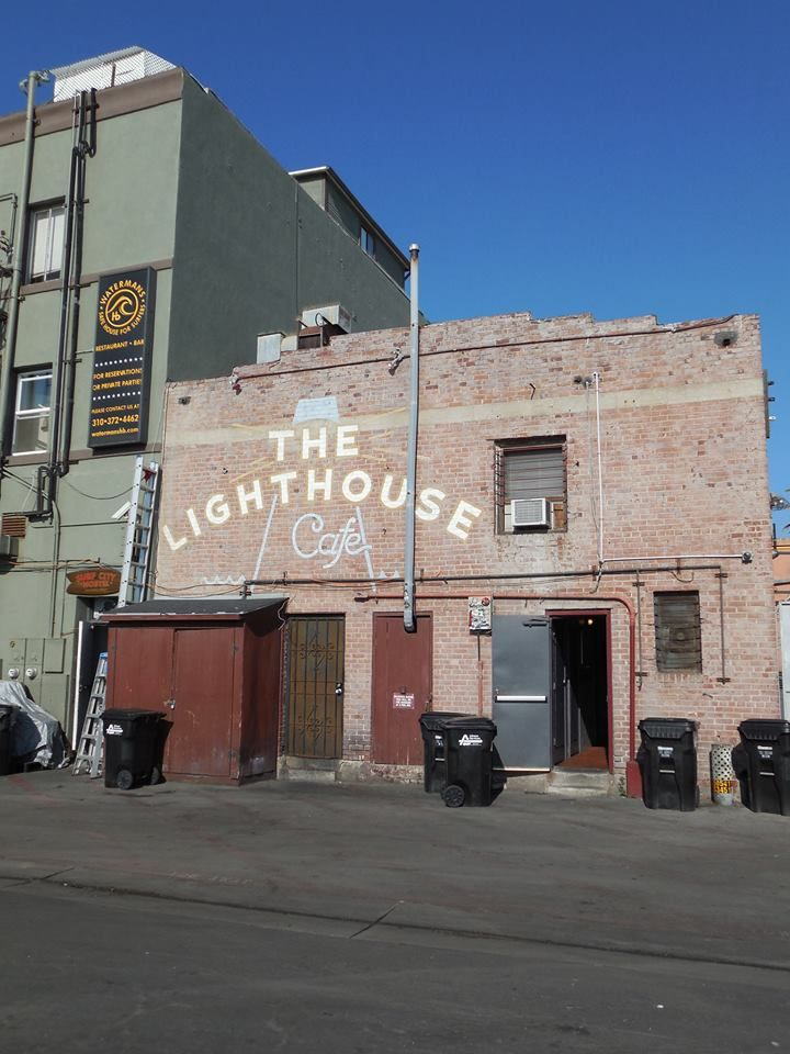 The back of the Lighthouse Club in