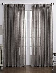 One+Panel+Curtain+Country+,+Solid+Bedroom+Material+Sheer+Curtains+Shades+Home+Decoration+For+Window+–+USD+$+37.79
