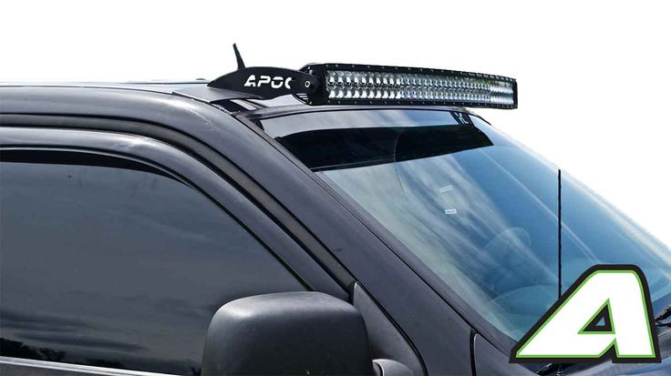 "2004-2012 GMC Canyon Apoc Roof Mount for 42"" Curved Led Light Bars"