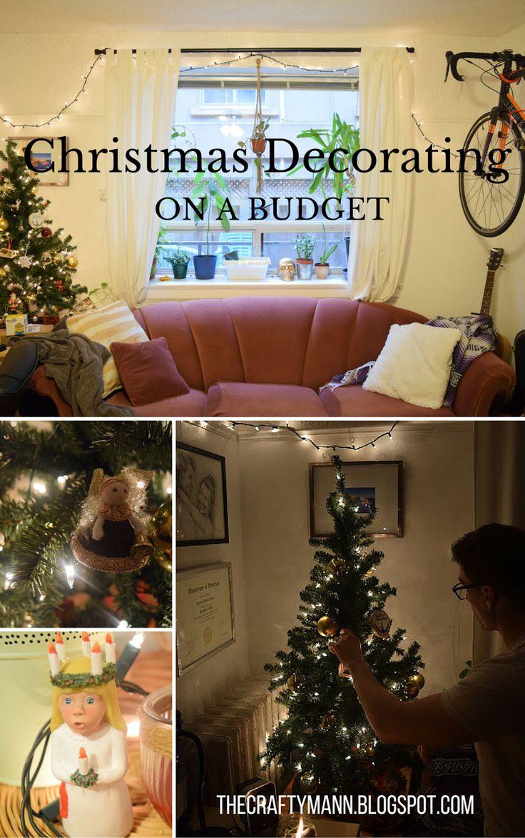 Christmas Decor on a Budget | thecraftymann