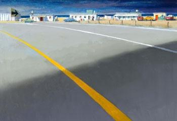 Jeffrey Smart's The Yellow Line