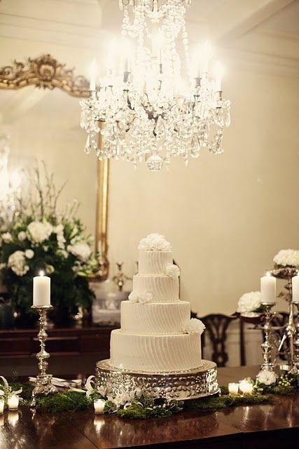 wedding cake: Beth Big, Katy Beth, Silver Cakes, Mr. Big, Cakes Design, Cakes Stands, White Wedding Cakes, Wife Castles, Big Day