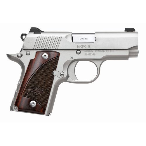 Kimber Micro 9 Stainless Raptor 9mm Pistol Save those thumbs & bucks w/ free shipping on this magloader I purchased mine http://www.amazon.com/shops/raeind  No more leaving the last round out because it is too hard to get in. And you will load them faster and easier, to maximize your shooting enjoyment.
