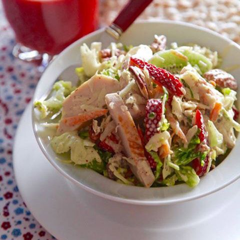 Калифорнийский капустный салат