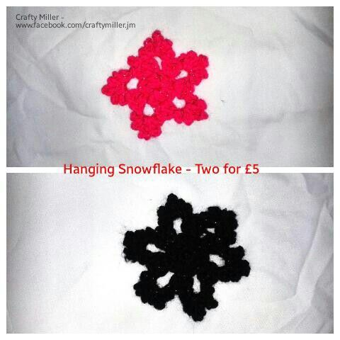 More snowflakes made today in different colours. Remember these are in the two for £5 offer http://goo.gl/PYPosa