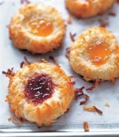 Barefoot Contessa - Recipes - Jam Thumbprint Cooies