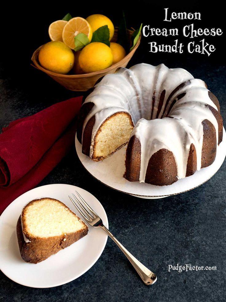Brighten your holiday season with this moist Lemon Cream Cheese Bundt Cake. It feels like springtime, and tastes amazing under a layer of lemon glaze. via @c2king