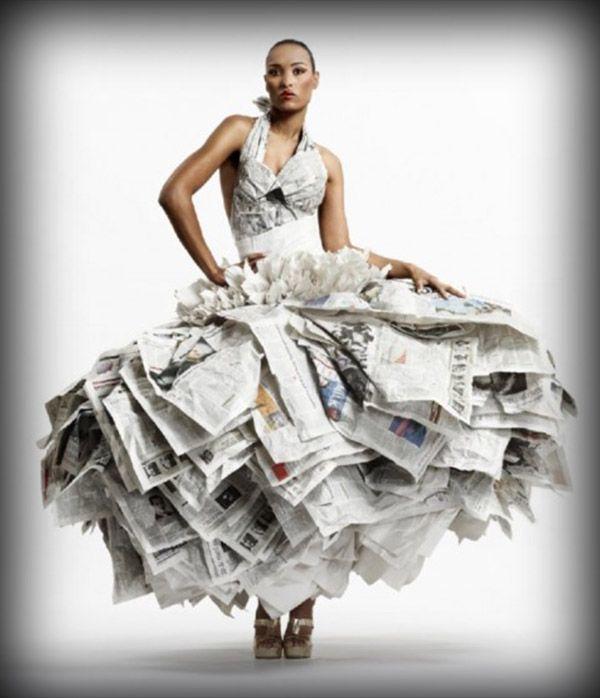 Todo Con Páginas, Aunque Seguramente, Con Material, Material Reciclado, Reciclado Moda, Vestido Reciclado, Vestido Hecho, Vestido, Con Libros