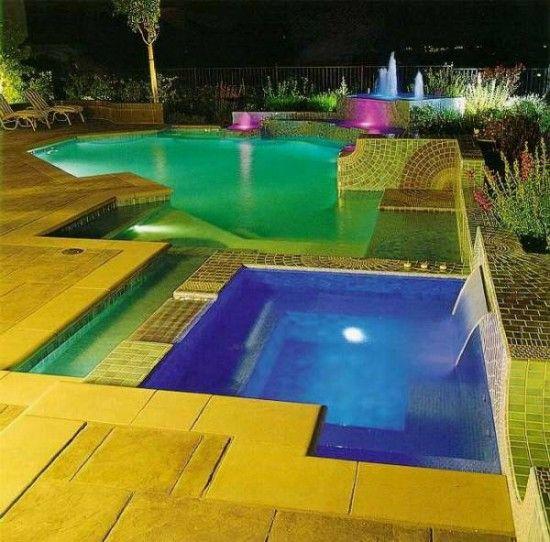 pool lighting ideas. Interior Design Ideas. Home Design Ideas