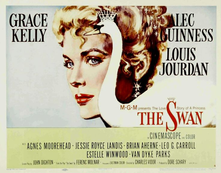 The Swan, 1956, not her best movie but what a way to say farewell to her film carreer.