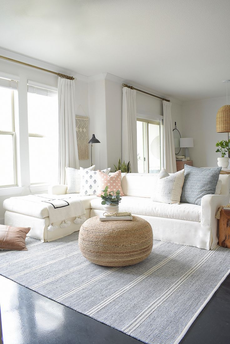 Light Airy Spring Living Room Tour Zdesign At Home Spring Living Room Classy Living Room Home Living Room
