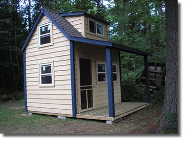 Northsheds 9x12 With Loft Porch Tiny House Pinterest