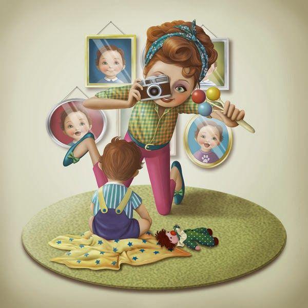Ilustraciones: MOTHER'S LOVE