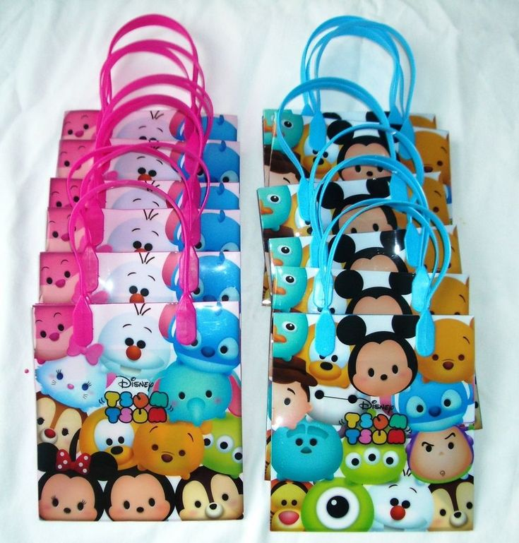 First Birthday Boy Party Loot Bag Single: 220 Best Images About Tsum Tsum Party On Pinterest