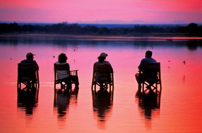 #travel #holiday #scenery #zambia #sunset