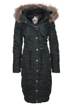 Winter coat - flaschengrün