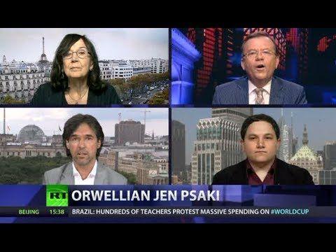 CrossTalk: Orwellian Jen Psaki (+плейлист)