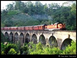 A train journey I love. Colombo to Badulla. More than 30 tunnels and the view is breathtaking.