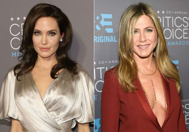 Jennifer Aniston And Angelina Jolie Are Bracing For An Awkward Run-In At The Golden Globes #AngelinaJolie, #BradPitt, #JenniferAniston celebrityinsider.org #Hollywood #celebrityinsider #celebrities #celebrity #celebritynews #rumors #gossip