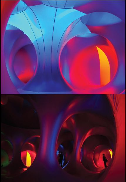 Architects of Air build 'luminaria' - inflatable structures for the beauty of…