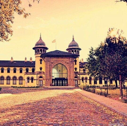 Karaağaç, Edirne, Turkey #edirne #turkey #history #architecture #autumn #vintage