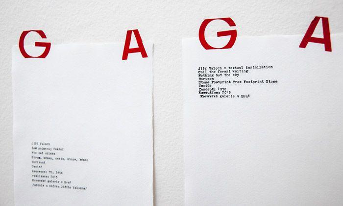 Jiří Valoch vystavuje v Brně slavnou vizuální poezii