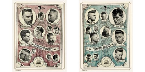 classic barbershop haircuts the barbershop classics and the signature haircuts 3540