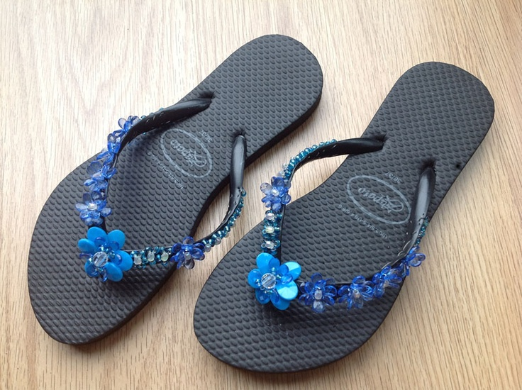 Shoes Sandals Wit Flip flops with decorative beads NES60002524