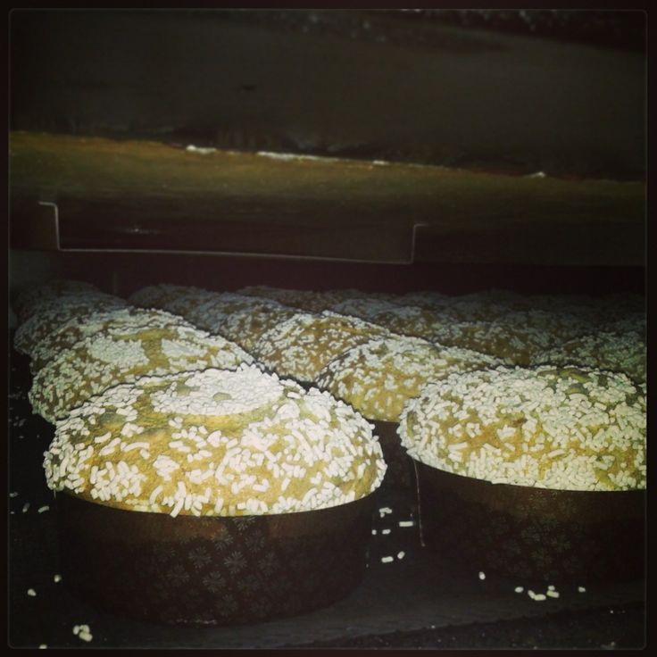 #cooking the #panettoni with #almond! :) #artisan #cook #totaste #food #pastry #sweet #sardinia #sardegna #pula #italy