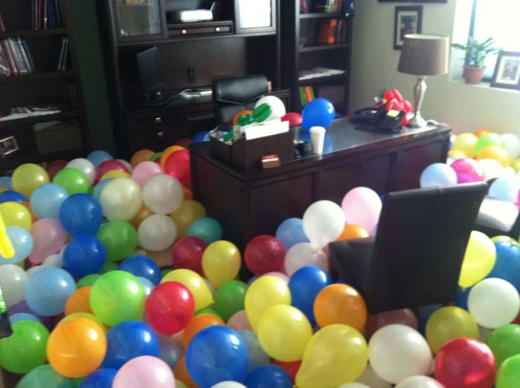 If you leave your office unattended while you're out on paternity ...