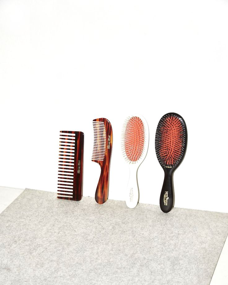 Brush Up / Hand crafted using time-honored techniques developed over 100 years ago, Mason Pearson brushes and combs are made from…