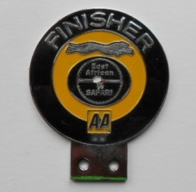 East African Safari Finishers Badge 1974 (AA)