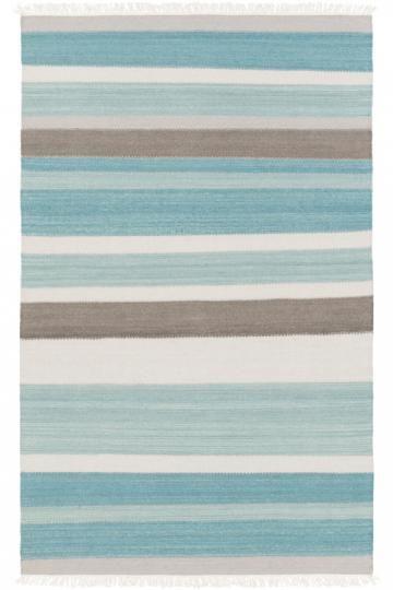 Raelyn Area Rug - Flat Weave Rugs - Flat Woven Rugs - Reversible Rugs - Striped Rugs - Contemporary Rugs - Coastal Rugs - Wool Rugs | HomeDecorators.com