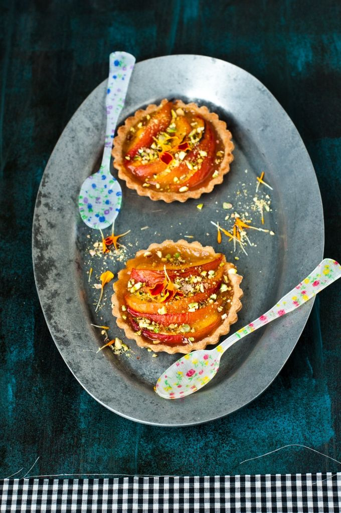 Peach Tart / Kiran Tarun: Health Desserts, Peaches Tarts, Cakes Photo, Tarts Recipe, Desserts Healthy, Peaches Desserts, Fruit Recipe, Kiran Tarun, Healthy Desserts