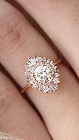 Gorgeous art deco inspired engagement ring. YES, please! http://rstyle.me/n/bu9dc6n2bn