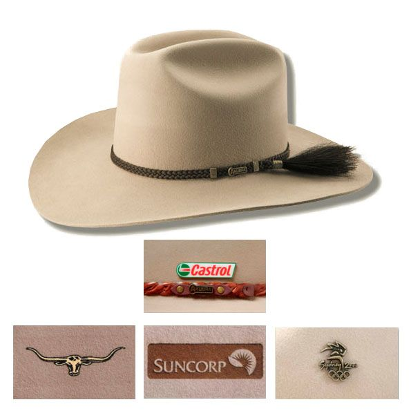 """Advertise your brand with this custom printed promotional """"The Arena Akubra Hat"""". Imprint this promotional Arena Akubra Hat with your business logo. For more details: Vivid Promotions Australia.  #TheArenaAkubraHat #AkubraHats #akubrahatsonline #australianhatsformen #australianhatsforwomen #PromotionalProductsAustralia #PromotionalAutomotiveProducts #promotionalgiveaways #automotivepromotionalproducts"""