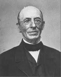 William Lloyd Garrison, famous abolitionist, suffragist and publisher of the newspaper 'The Liberator'.  Taken from shacklesofyesterday.org.