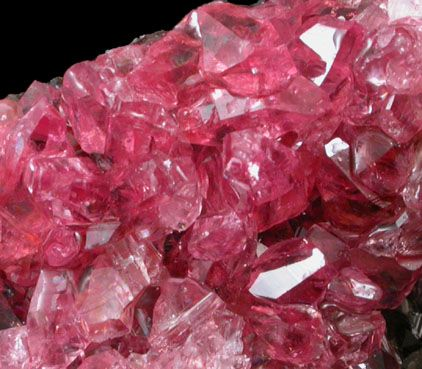 Rhodochrosite from Hotazel Mine, Kalahari Manganese Field, Northern Cape Province, South Africa