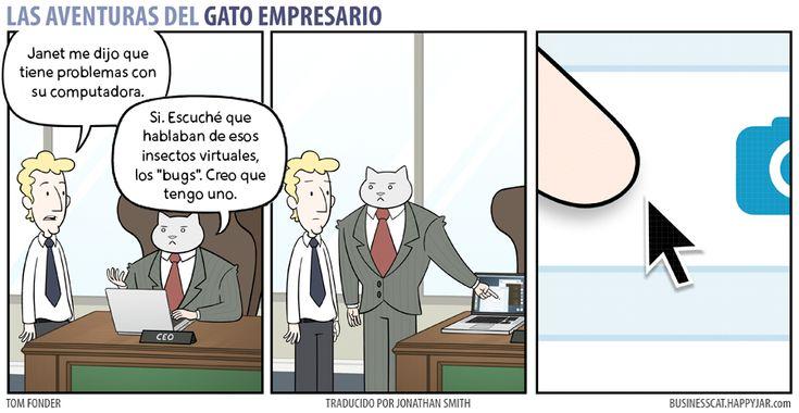 Business Cat - Insectos Cibernéticos