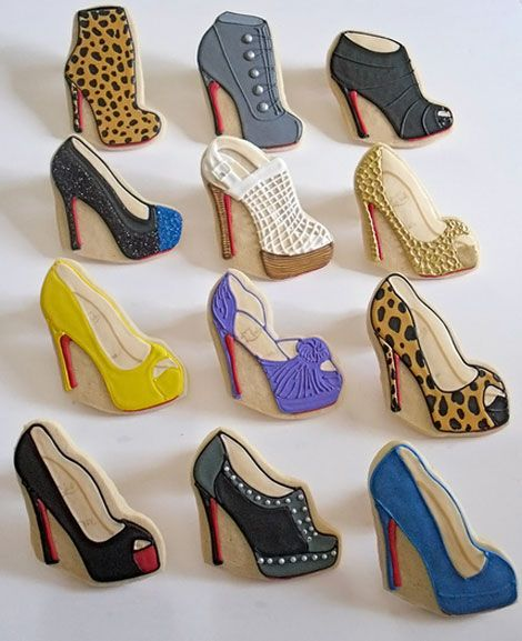 shoes cookies // galletitas de zapatos