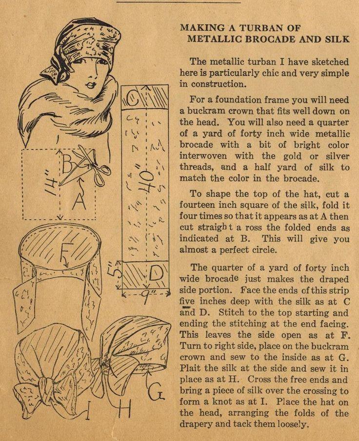 El Midvale Cottage publicación: Inicio Consejos de costura de la década de 1920 - Costura de un elegante Ma ...