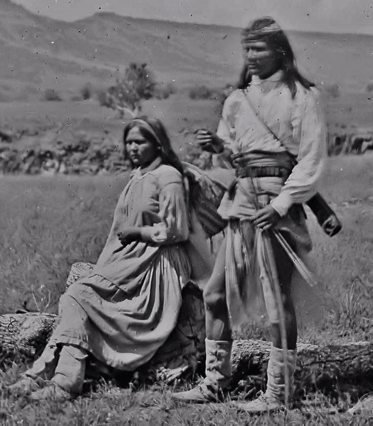 Apache couple - 1876༺ ♠ ༻*ŦƶȠ*༺ ♠ ༻