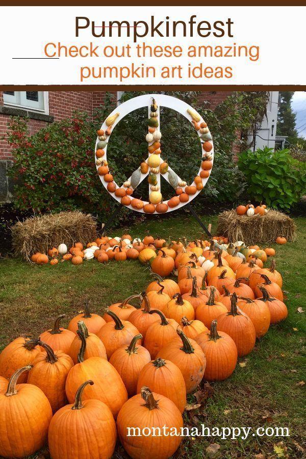 Damariscotta Pumpkinfest Halloween Pumpkin Art Montana