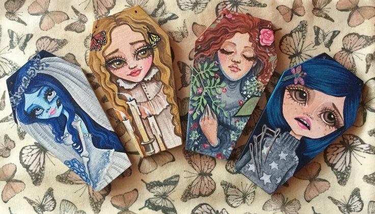 #Emily #CorpseBride #Edith #CrimsonPeak #Ophelia #Coraline