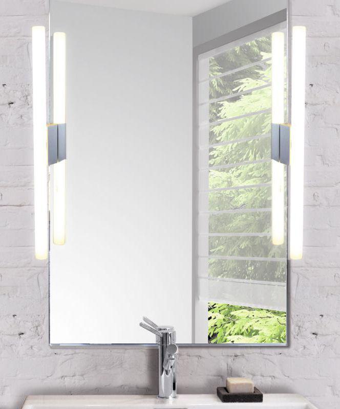 Top Light Lichtstange: Die Spiegelleuchte / Wandleuchte verfügt über eine Spiegelklemme, zur schnellen Montage am Spiegel. Geeignet für Spiegelstärken 3-9 mm. Ausgestattet ist die Leuchte mit transparentem Kabel, Stecker und Schalter. #Spiegelleuchte #Wandleuchte #badezimmerleuchte #badleuchte #leuchte #lampe #bad #badezimmer #leuchtstab #leuchtestange #klemme #einfachemontage #toplight #lichtstange #klemmi #reuter #reuterde