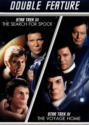Star Trek III: The Search for Spock/Star Trek IV: The Voyage Home [2 Discs] [DVD]