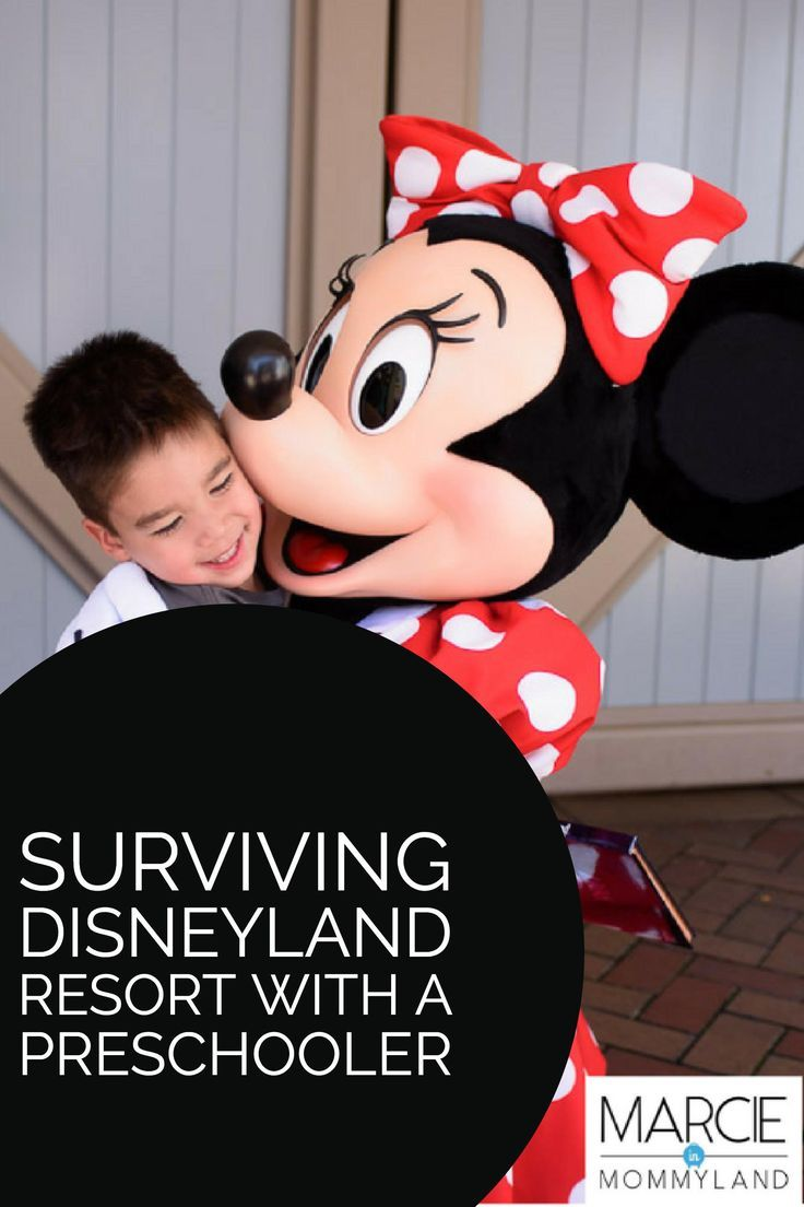 Are you heading to the Disneyland Resort in California with a preschooler? Find out my top tips and tricks to making the most out of your Disney vacation. Click to read more or pin to save for later. www.marcieinmommyland.com