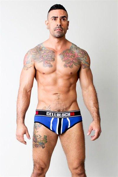 Viper brief azul - Ropa sexi masculina ...