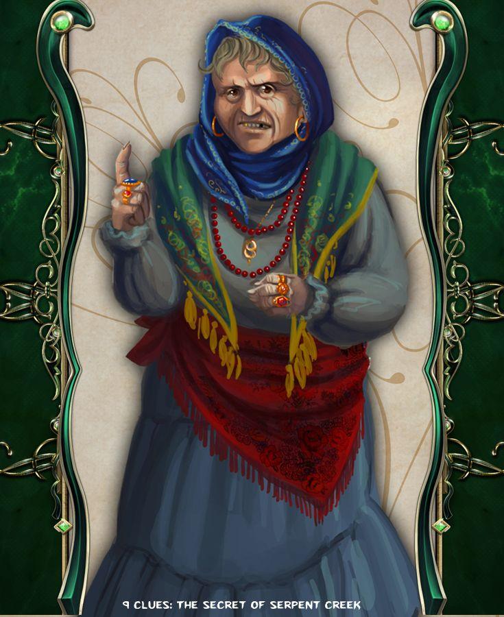 Gypsy #artifexmundi #tapitgames #9clues #adventure #game http://www.artifexmundi.com/page/9clues/